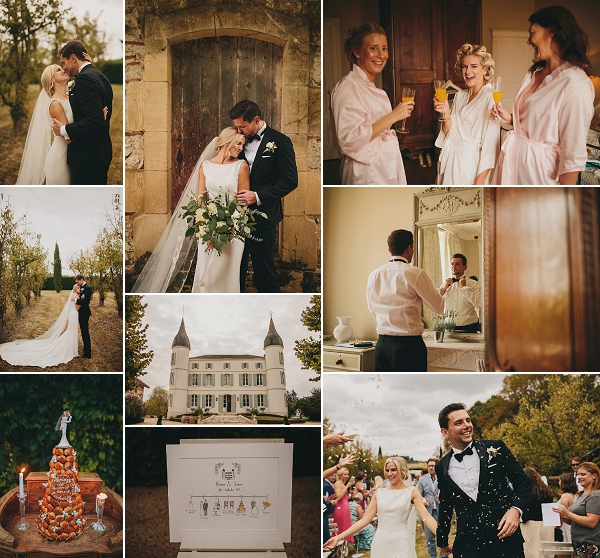 Immaculate Chateau Wedding In South West France Snapshot