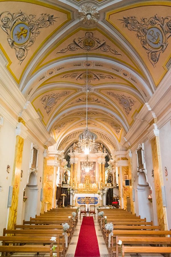 Provence church ceremony