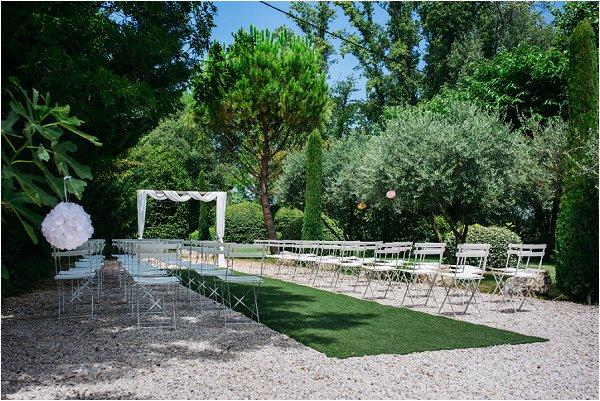 Provence wedding venue Blanche Fleur | Image by Shelby Ellis
