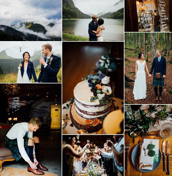 Romantic French Alps Real Wedding Snapshot