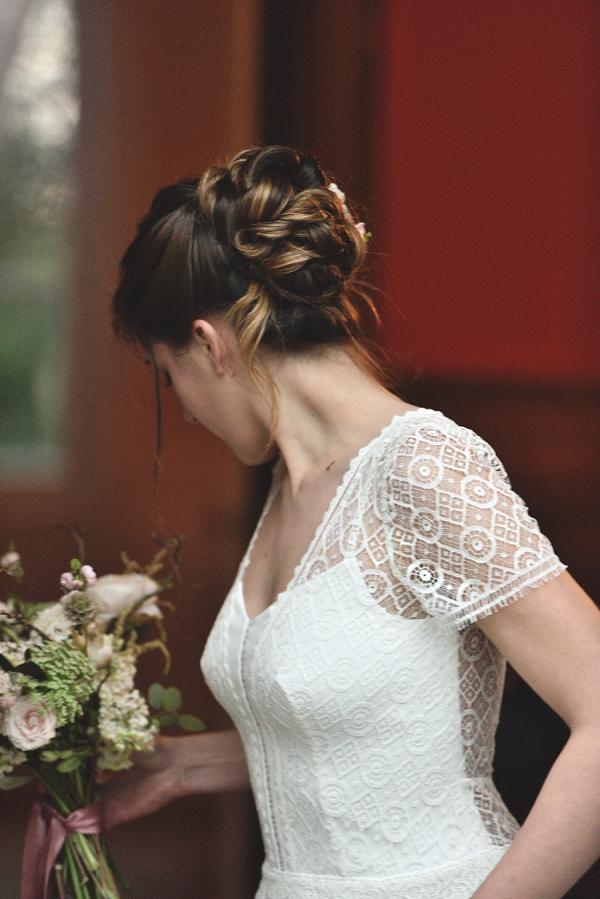 Sarah Fekir wedding hair stylist