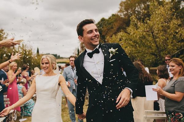 South of France wedding confetti