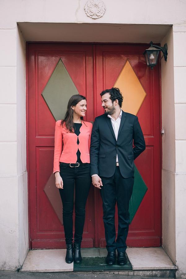 Paris Engagement Shoot