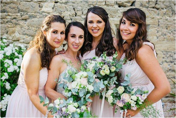 destination pastel bridesmaids dresses | Image by Shelby Ellis