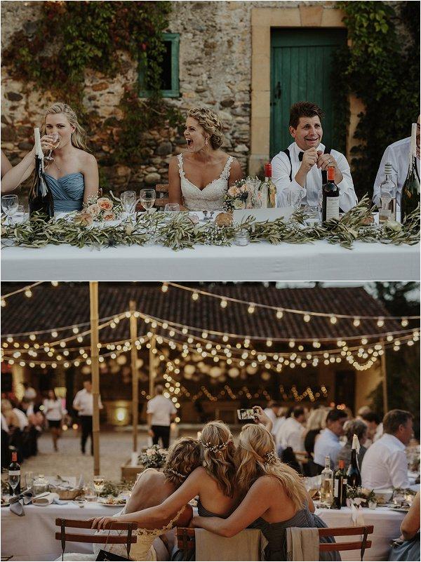fairytale French wedding