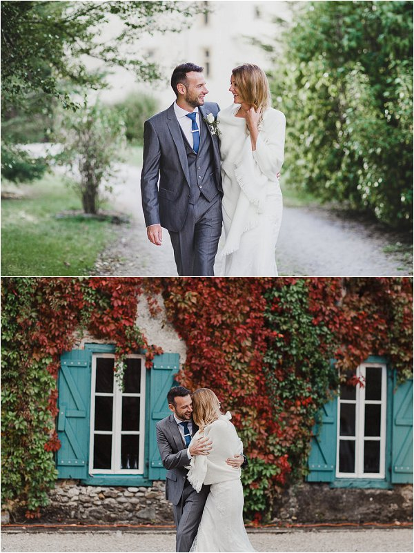 real wedding at Chateau Saint Martory in France