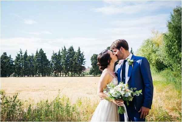 real wedding in provence France
