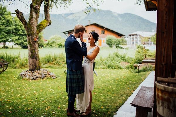 tartan inspired wedding