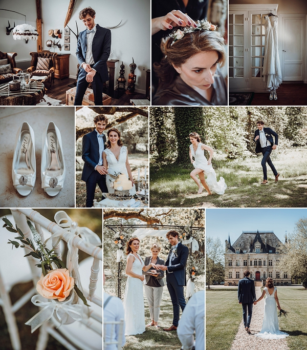 18th Century Chateau For South West France Wedding Shoot Snapshot