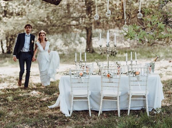 18th Century Chateau wedding inspiration