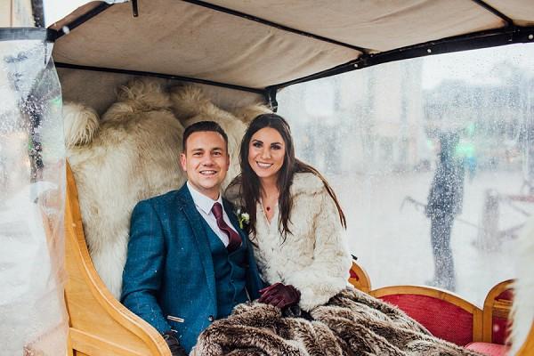 A Dreamy French Alps Winter Wedding