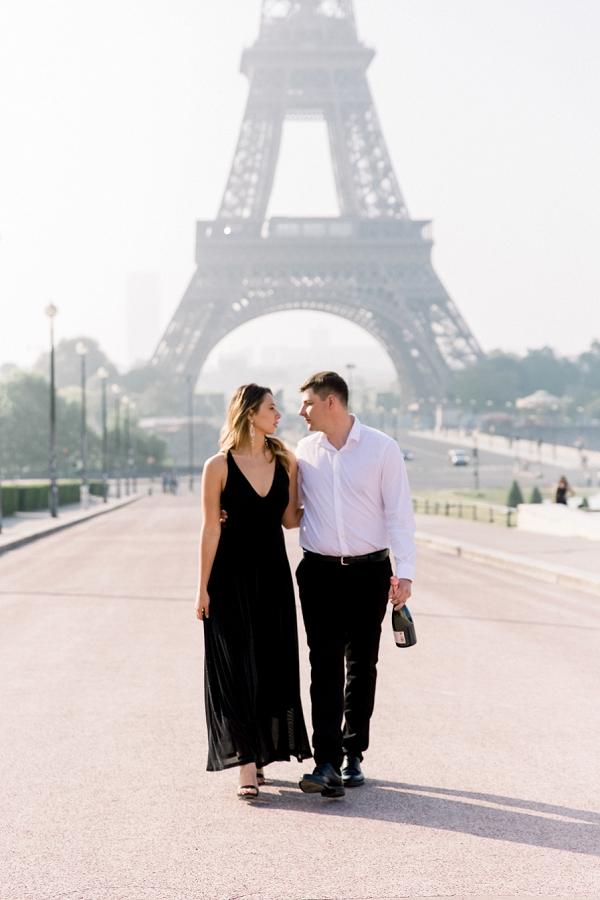 Black Tie Paris Wedding Anniversary Shoot