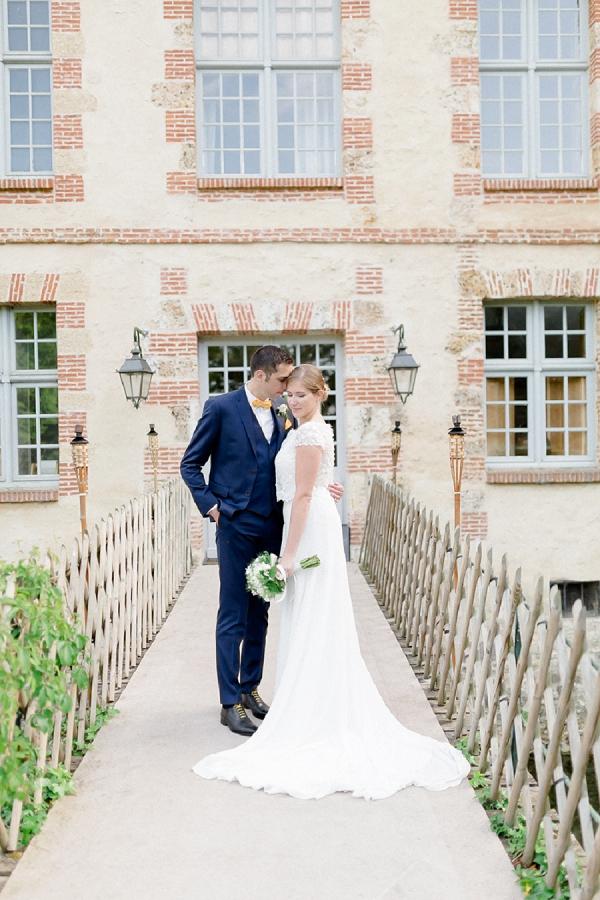 Château de La Cour Senlisse Real Wedding