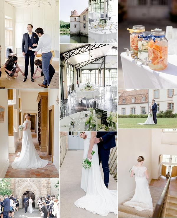 Château de La Cour Senlisse Real Wedding Snapshot