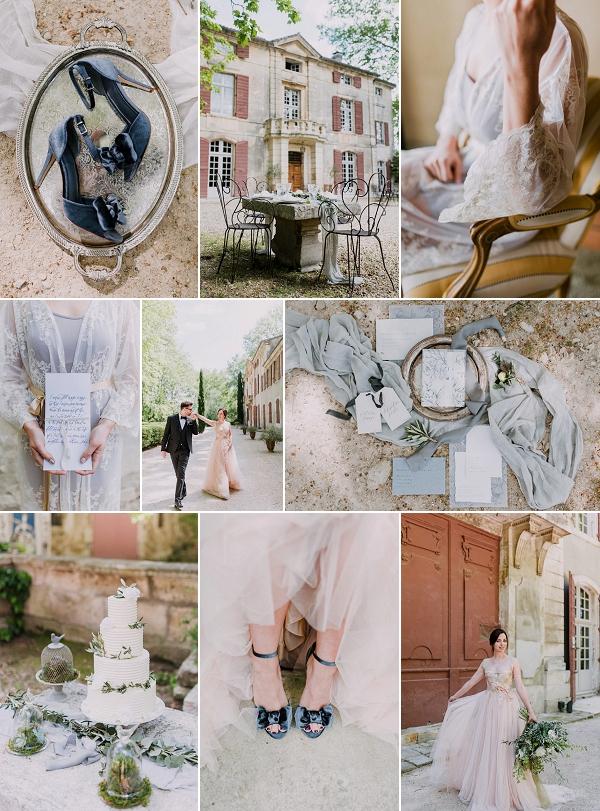 Fine Art Château De Roussan Wedding Inspiration Snapshot