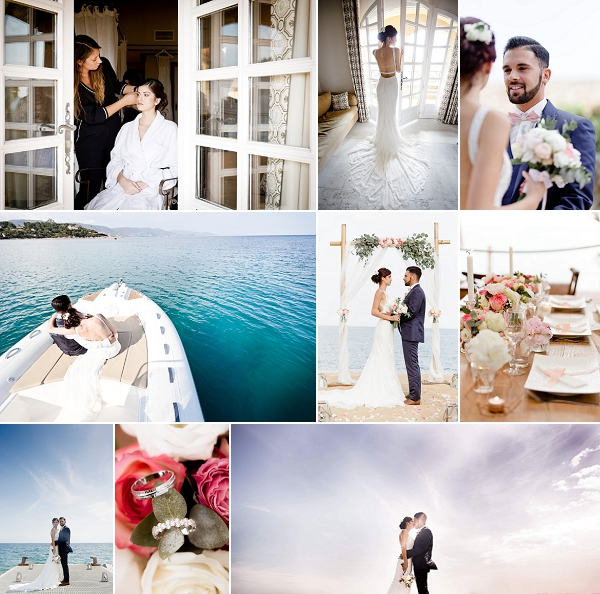 Luxury Saint Tropez Wedding Inspiration Shoot Snapshot