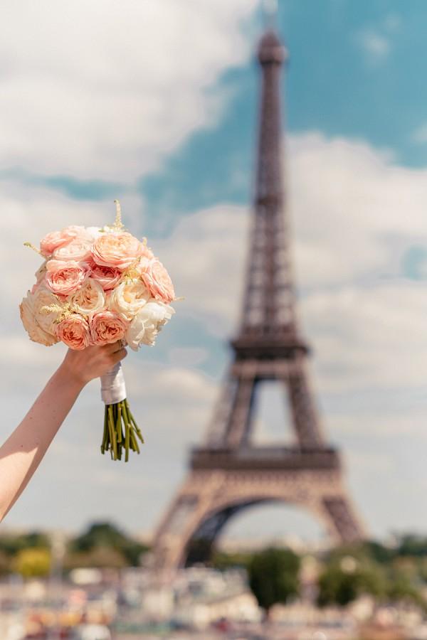 Romantic Laperouse Paris Real Wedding