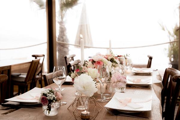 Saint Tropez Wedding decor