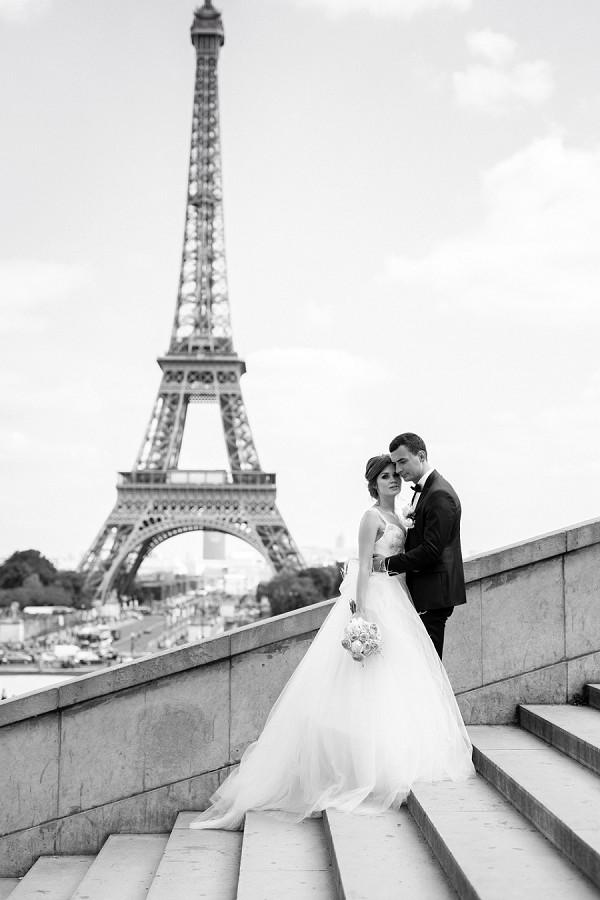 black and white Paris photos