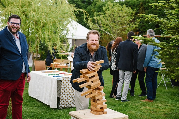 garden wedding games