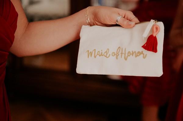 maid of honor purse