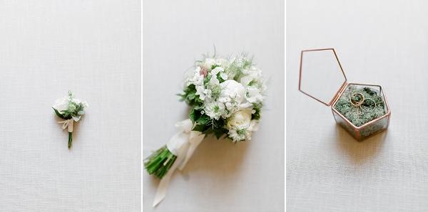 neutral wedding details
