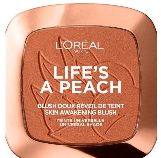 peach blush powder