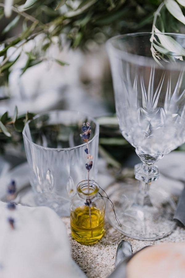 provence wedding details