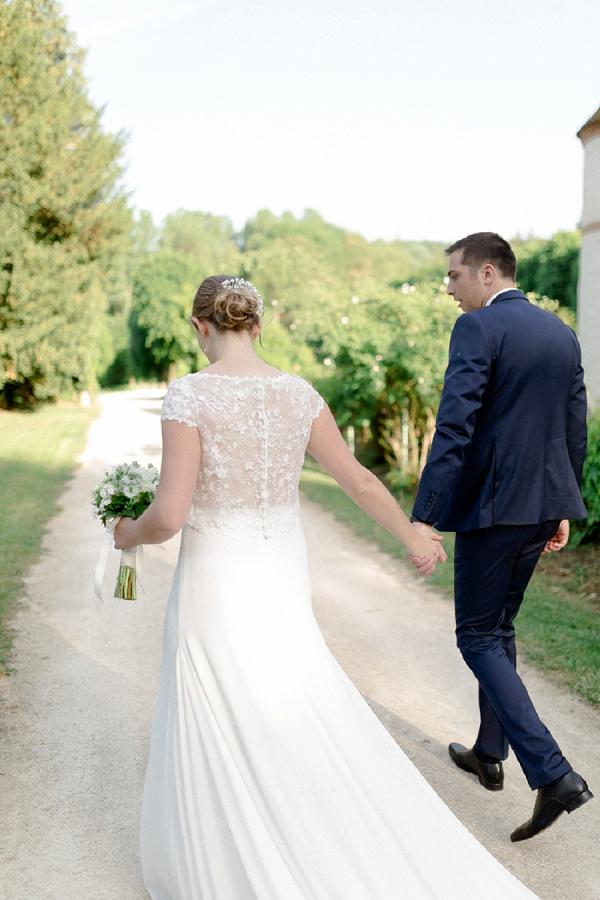 real chateau wedding
