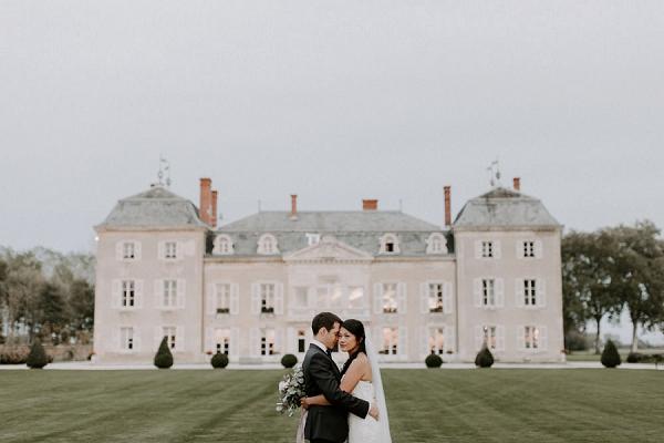 Château de Varennes real wedding | Image by Grace Elizabeth Photo & Film