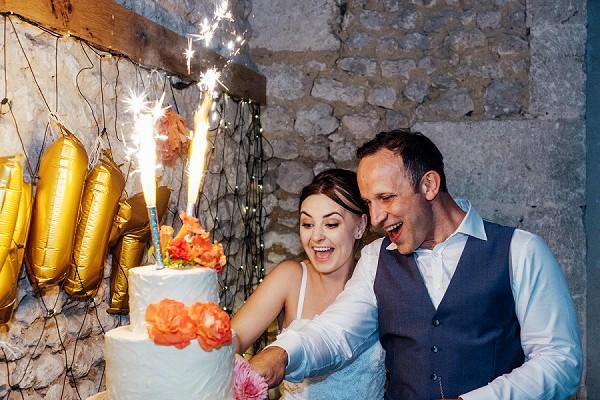 Charente wedding cake