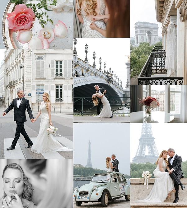 Chic Destination Paris Elopement Snapshot