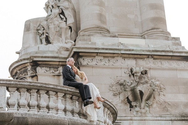 Chic Destination Paris Elopement
