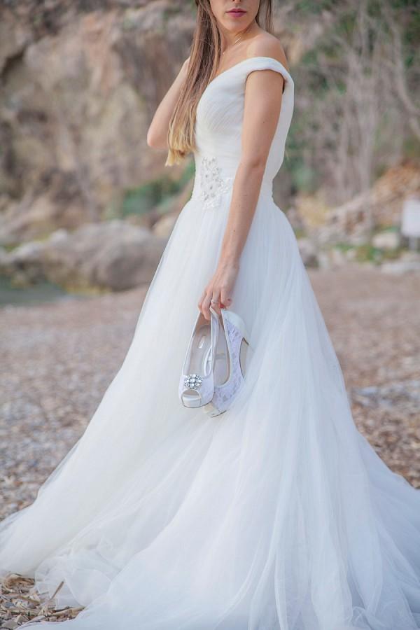 Cote d'Azur bridal portraits
