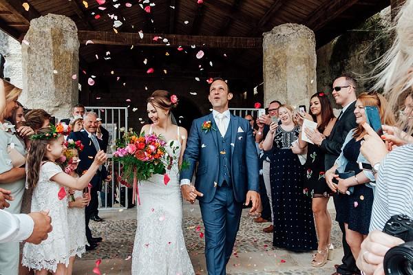 French wedding confetti line