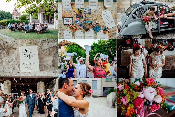 Fun South West Coast French Wedding Snapshot