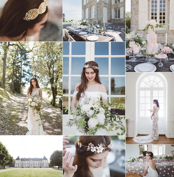 L'heure Opulente Le Jardin a la Francaise Wedding Inspiration Snapshot