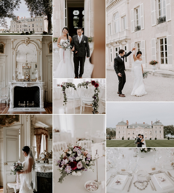 Luxury French Chateau Wedding at Château de Varennes Snapshot