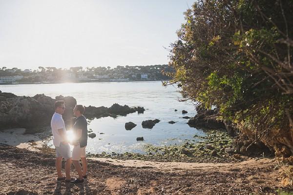 Saint Jean Cap Ferrat engagement shoot