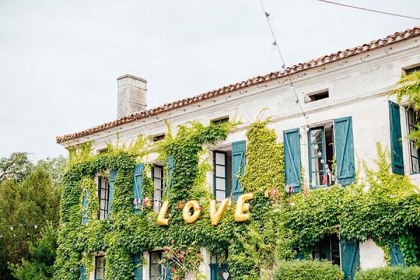 South West France wedding venue