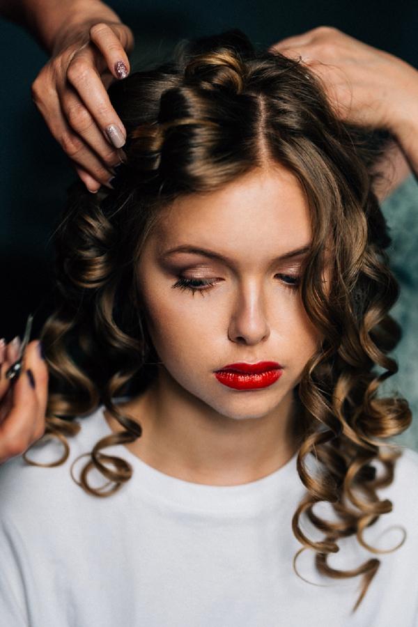 South of France wedding hair stylist
