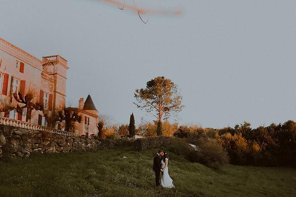 Spring Bordeaux wedding