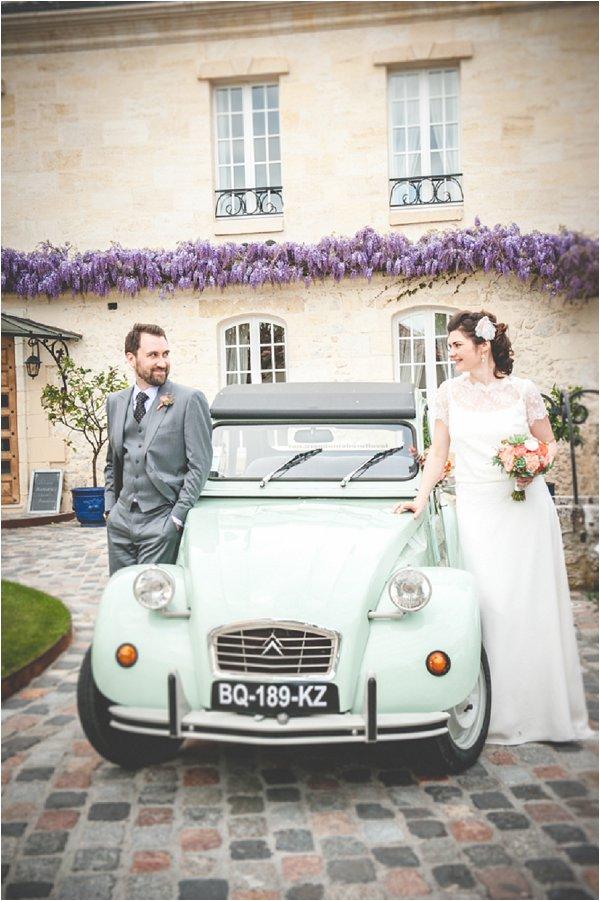 Spring French Wedding Car
