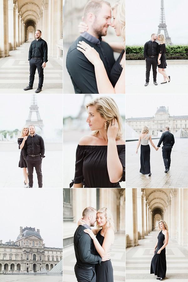 Third Year Wedding Anniversary in Paris Snapshot