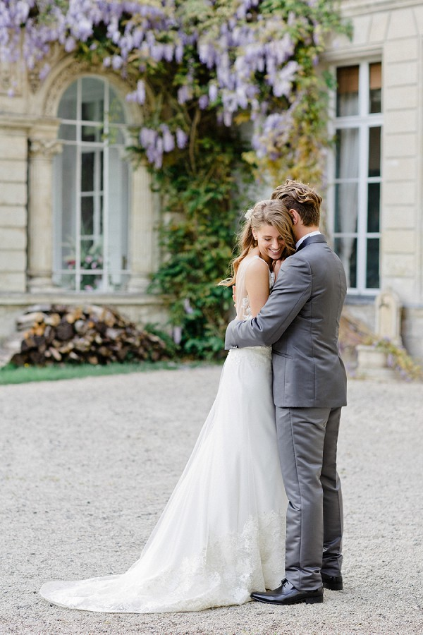 Wisteria Inspired Chateau d'Aubry Wedding