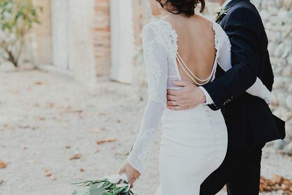 backless Amy Taylor gown
