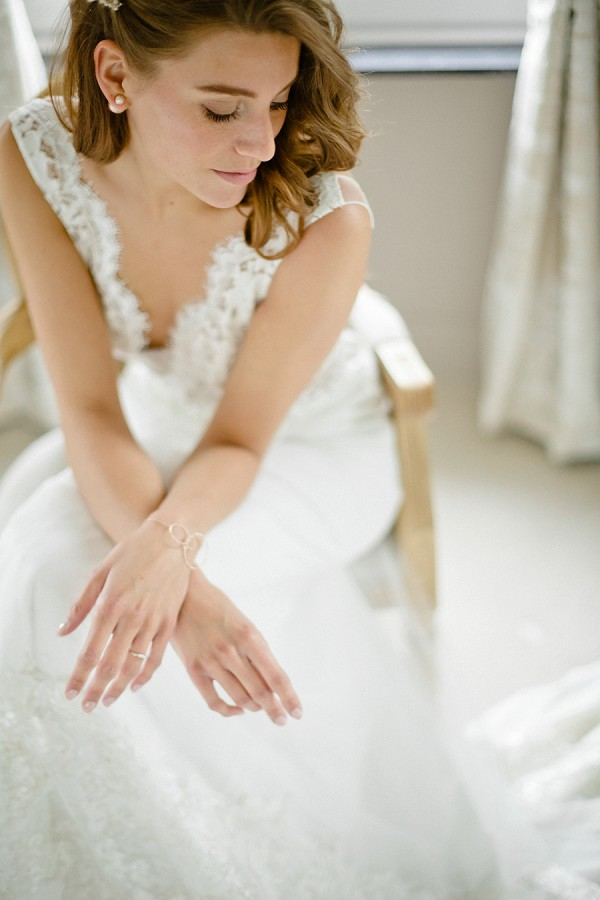 delicate bridal jewelry