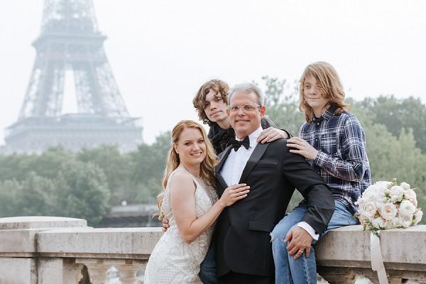 family elopement paris