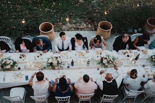 long wedding tables
