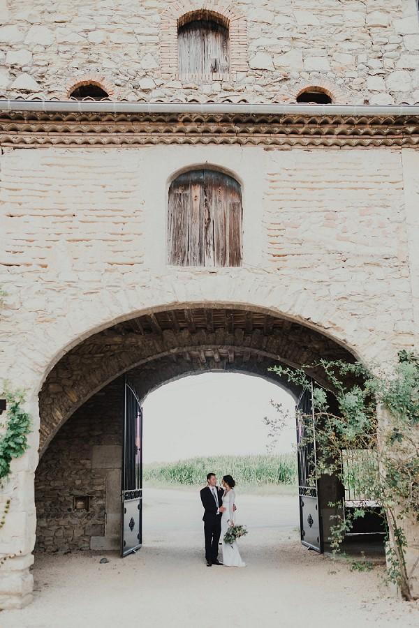 rustic chic wedding venue